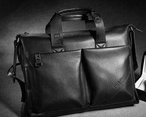 Fashion Leather Briefcase (2 Colors) - TakeClothe - 3