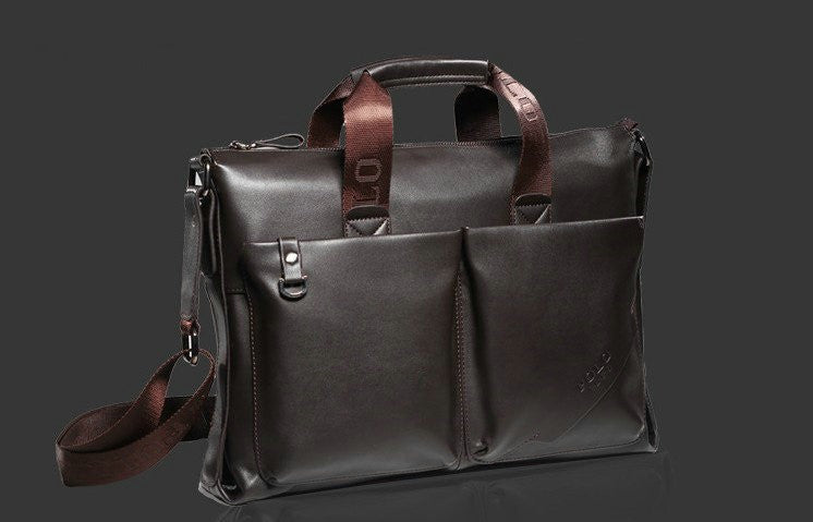 Fashion Leather Briefcase (2 Colors) - TakeClothe - 5