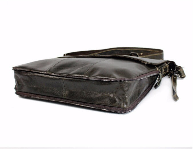 Leather Briefcase Bag - TakeClothe - 5
