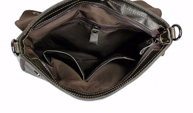 Leather Briefcase Bag - TakeClothe - 8