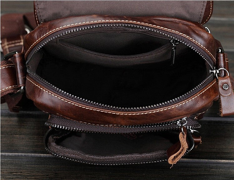 Leather Flight Bag - TakeClothe - 5