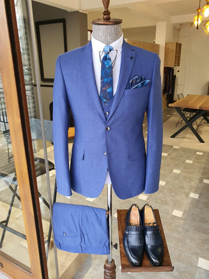 Bristol Blue Slim Fit Suit