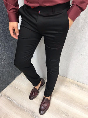 Kingston Black Slim Pants