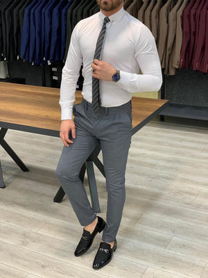 Kingston Gray Slim Pants