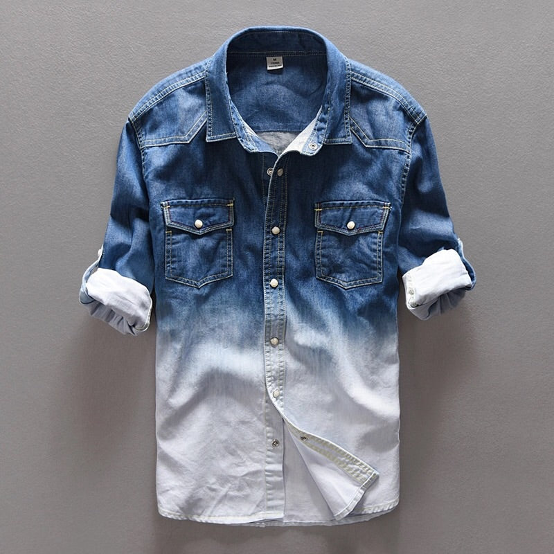 Urban Blended Casual Button-Up Shirt