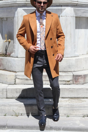Martin Camel Wool Coat Limited