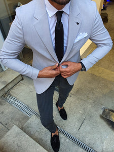 Bellingham Gray Slim Fit Blazer