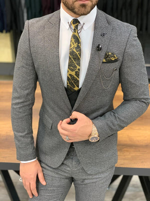 Sierra Gray Slim Fit Suit