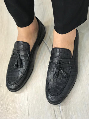 Ferrar Tassel Brick Loafer