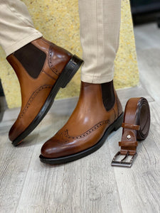 Ade Brown Chelsea Boots