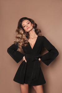 Black Coral playsuit