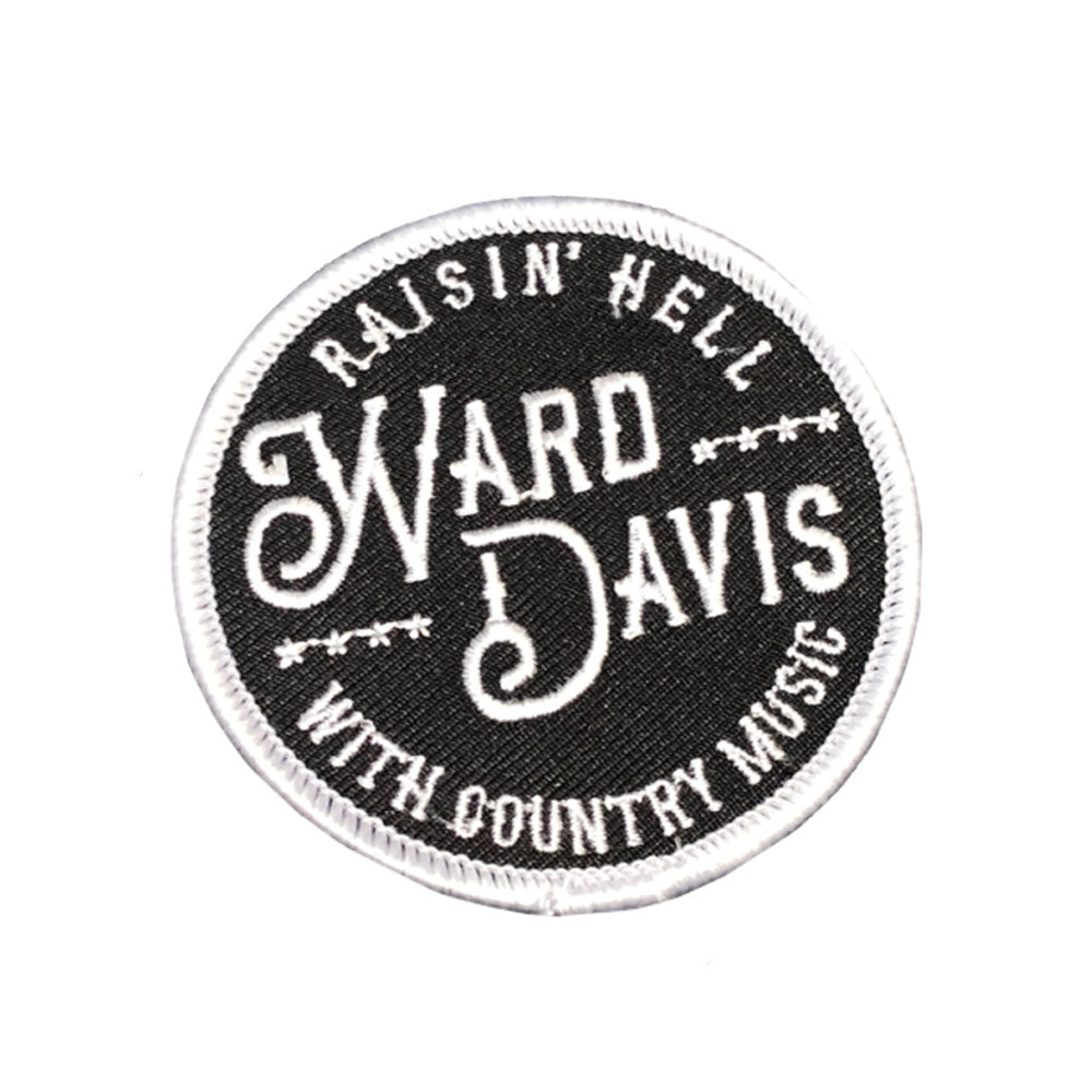 NEW - Ward Davis Raisin' Hell Patch