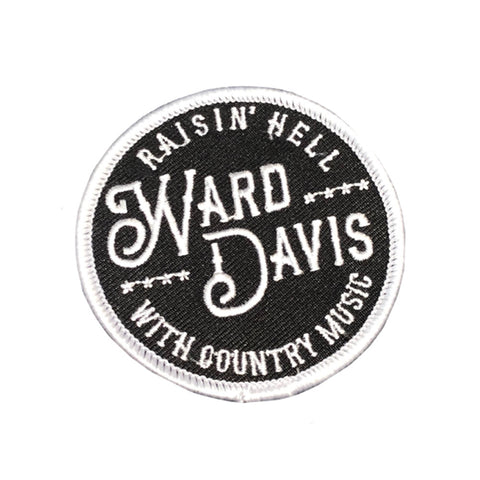 Ward Davis Raisin' Hell Patch