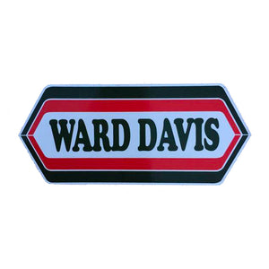 Ward Davis Sticker