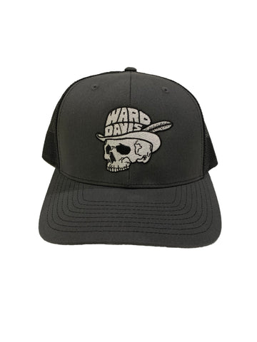 Feathered Skull Hat