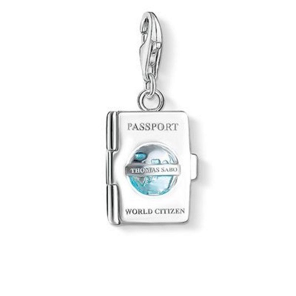 Silver Charm Pendants Around the World