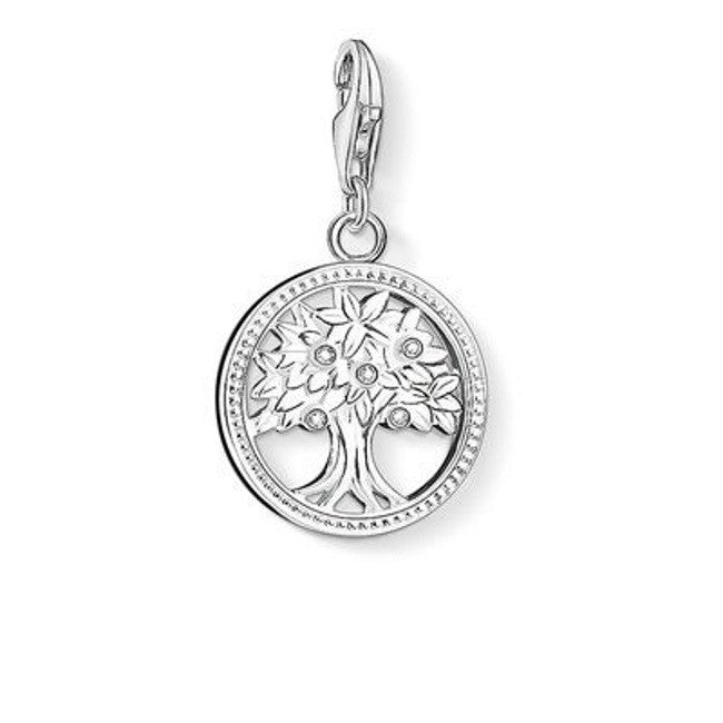 Intricate Silver Charm Pendants