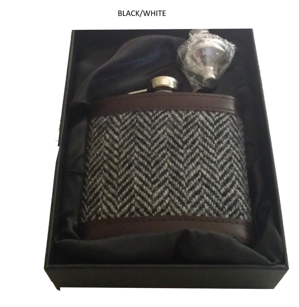 Scottish Tartan Hip Flasks