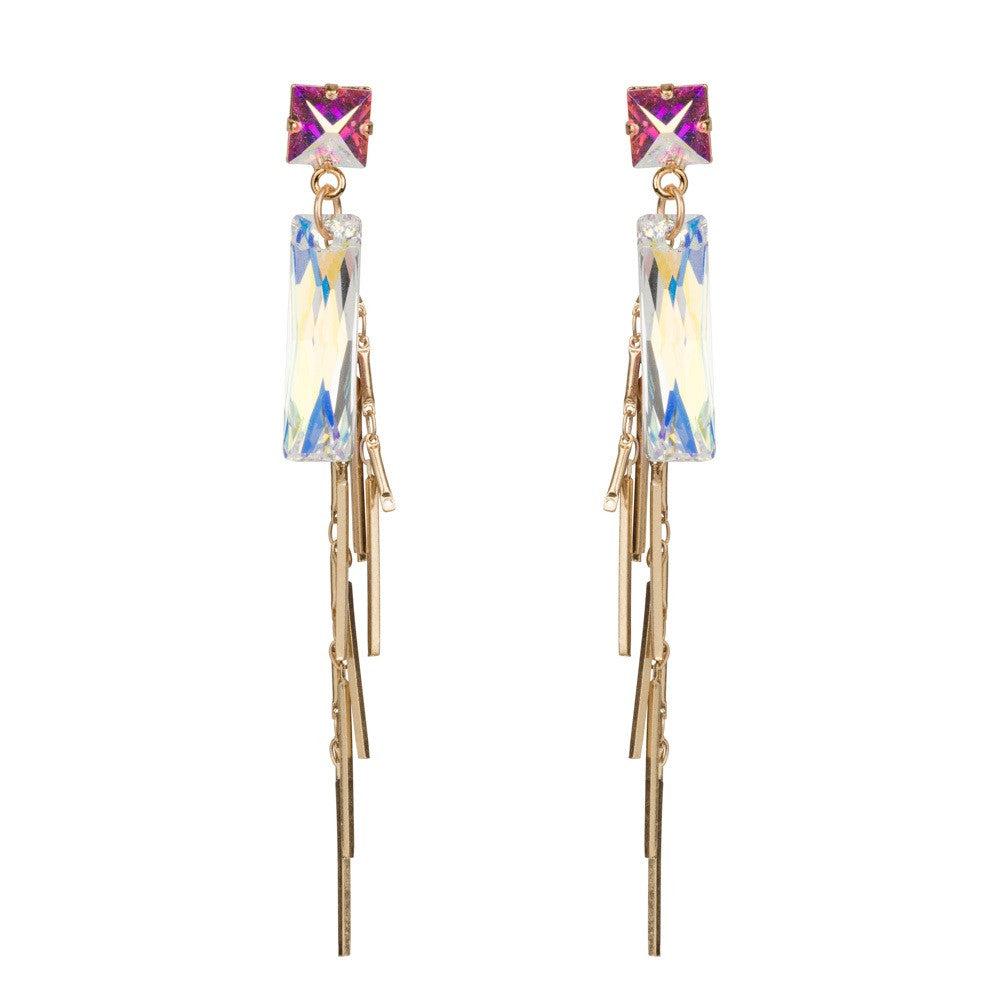 Swarovski Baguette Earrings