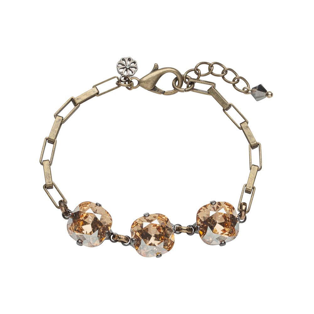 Swarovski Crystal with Pearl Bracelet