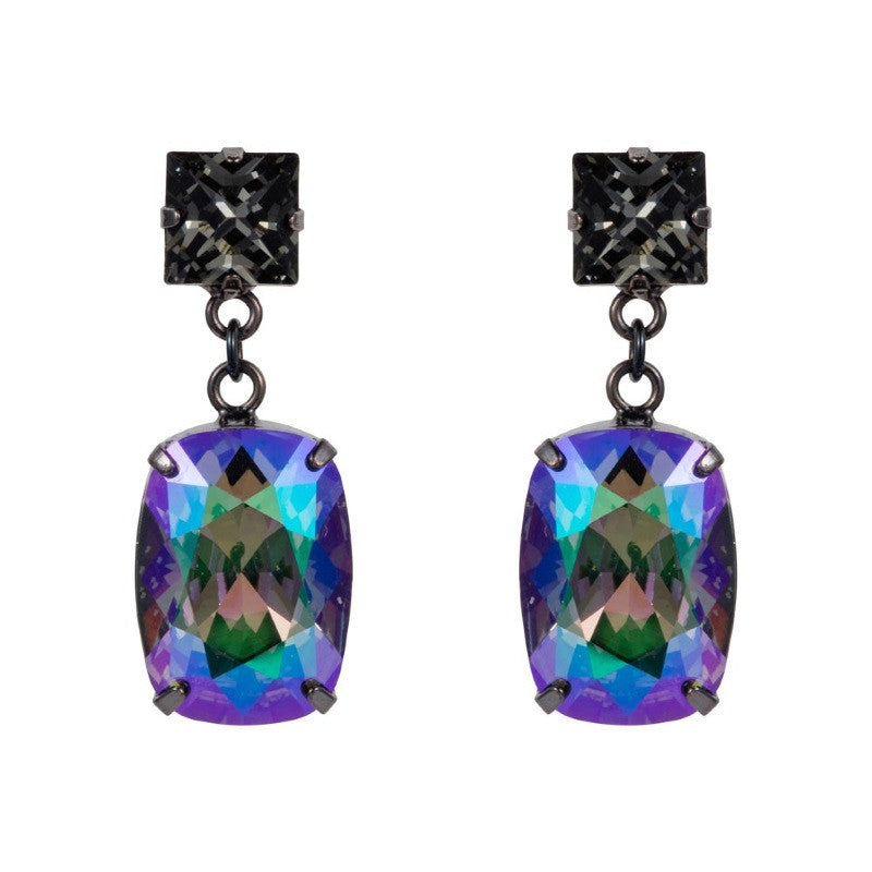 Swarovski Drop Crystal Earrings