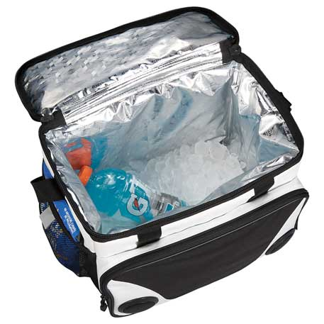 insulated bag with speakers
