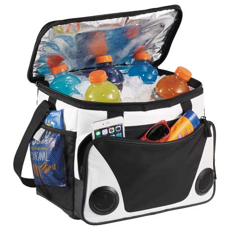 cooler bag with speakers