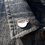 Strength Cafe Latte Pin