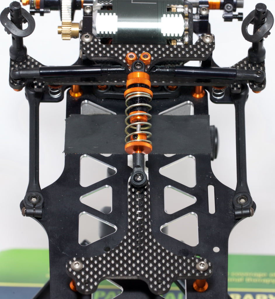 BLACK CARPET EDITION X12 Servo Mounting Plates and Short Upper Pod Plate