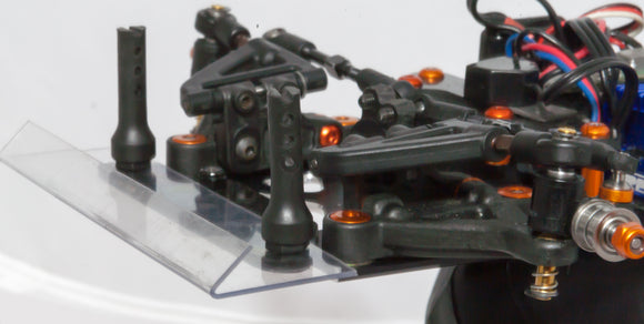 Black Carpet Edition 1/12 Pan-Car Body Support Now also in Lexan