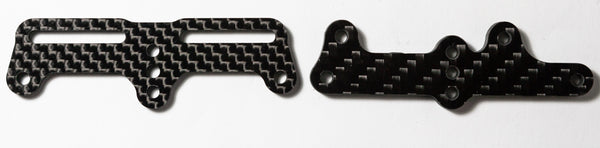 BLACK CARPET EDITION RC12R6 Servo Mounting Plate for BLS671SV_i - West Coast R/C Works