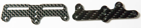 BLACK CARPET EDITION RC12R6 Servo Mounting Plate for 96x0 - West Coast R/C Works