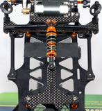 Pre-Order Item - X12 Servo Mounting Plate for SRG-Hx BLACK CARPET EDITION - West Coast R/C Works