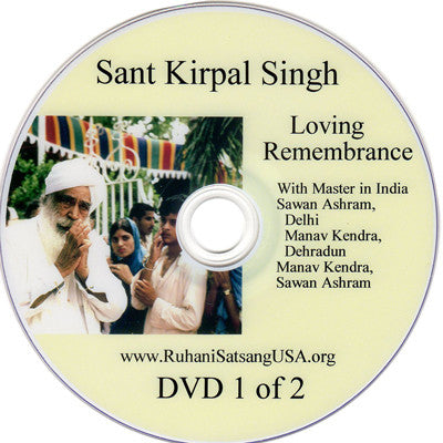 Loving Remembrance  DVD 1 of 2 (HINDI)