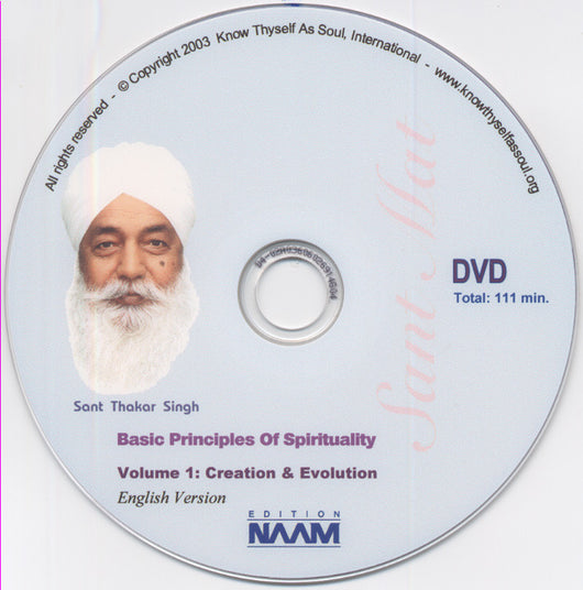 Basic Principles of Spirituality Vol. 1