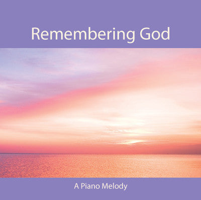 Remembering God