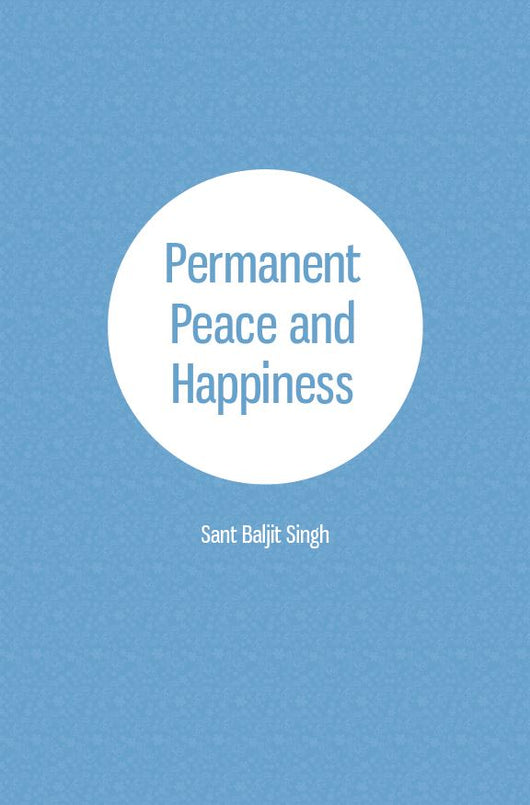 Permanent Peace and Happiness - NEW! booklet