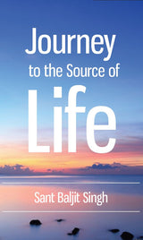 Journey to the Source of Life - book