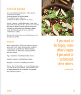 Kitchen of Joy  RECIPE BOOK  Vegetarian 83-pages