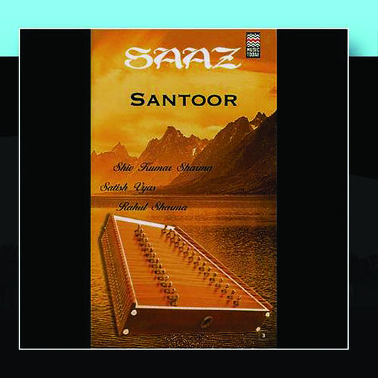 Saaz Santoor - music CD - NEW!