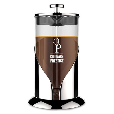 Culinary Prestige™ French Press in Chrome