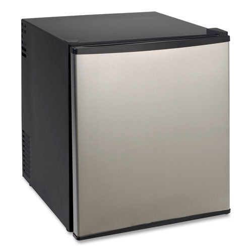 1.7 Cu.ft Superconductor Compact Refrigerator, Black-stainless Steel
