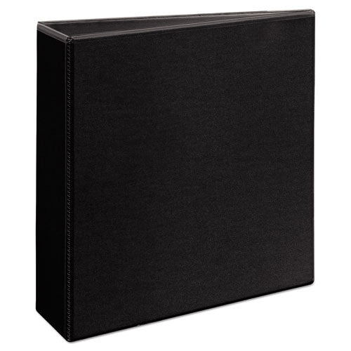 "Durable View Binder With Durahinge And Ezd Rings, 3 Rings, 3"" Capacity, 11 X 8.5, Black, (9700)"