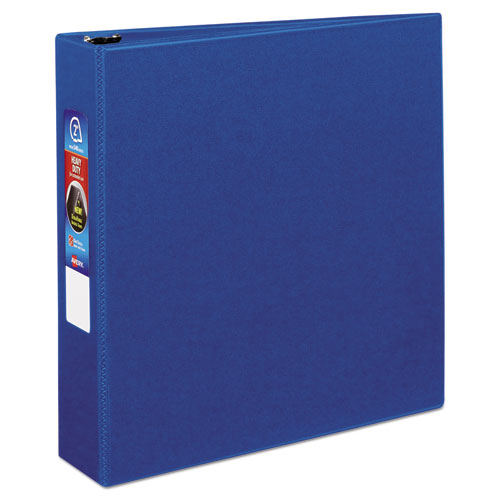 "Heavy-duty Non-view Binder With Durahinge And One Touch Ezd Rings, 3 Rings, 2"" Capacity, 11 X 8.5, Blue"