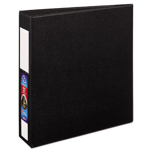 "Heavy-duty Non-view Binder With Durahinge And One Touch Ezd Rings, 3 Rings, 2"" Capacity, 11 X 8.5, Black"