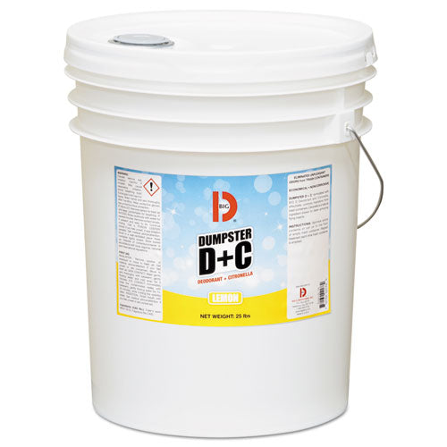 Dumpster D Plus C, Neutral, 25 Lb, Bucket