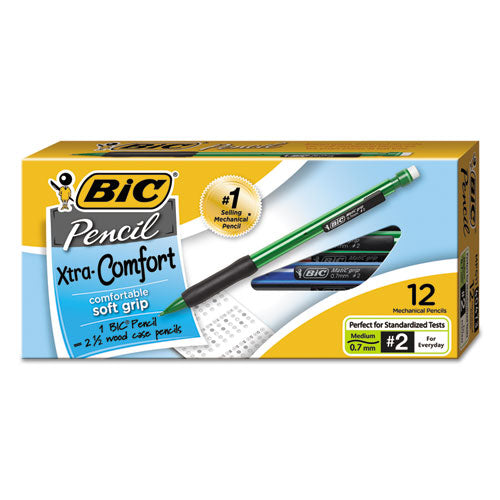 Xtra-comfort Mechanical Pencil, 0.7 Mm, Hb (