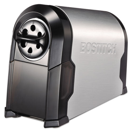 "Super Pro Glow Commercial Electric Pencil Sharpener, Ac-powered, 6.13"" X 10.63"" X 9"", Black-silver"