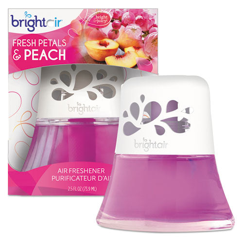 Scented Oil Air Freshener Diffuser, Fresh Petals And Peach, Pink, 2.5 Oz