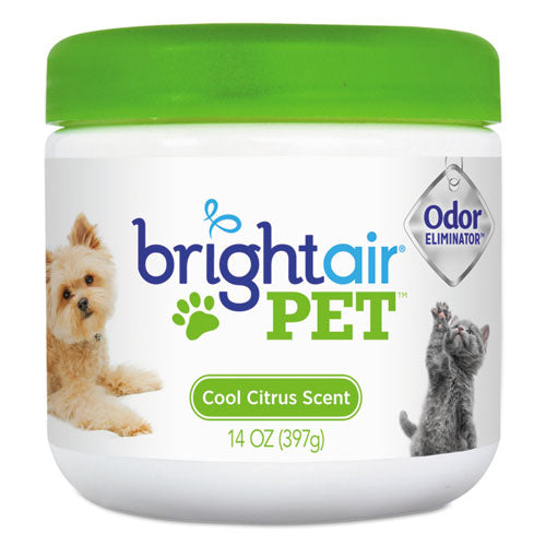 Pet Odor Eliminator, Cool Citrus, 14 Oz Jar, 6-carton